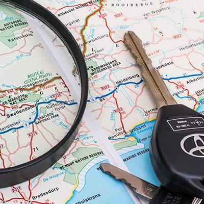 GPS kontrol og internet